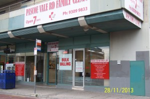 Pascoe Vale Rs Family Clinic Front
